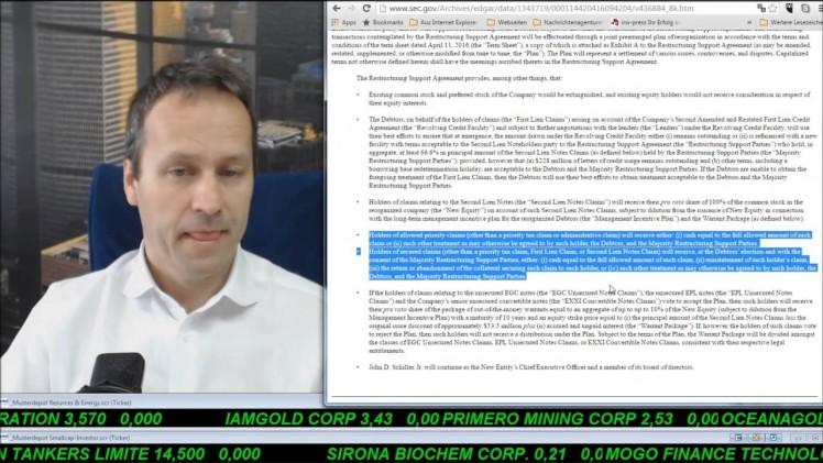 SmallCap-Investor Talk 544 über Energy XXI (IK)