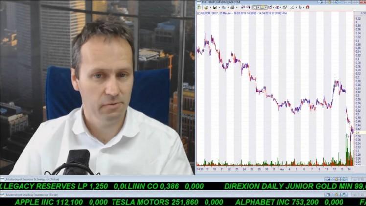 SmallCap-Investor Talk 545 über DAX, Gold, Goldminen, SantaCruz, Breitburn, Linn usw.