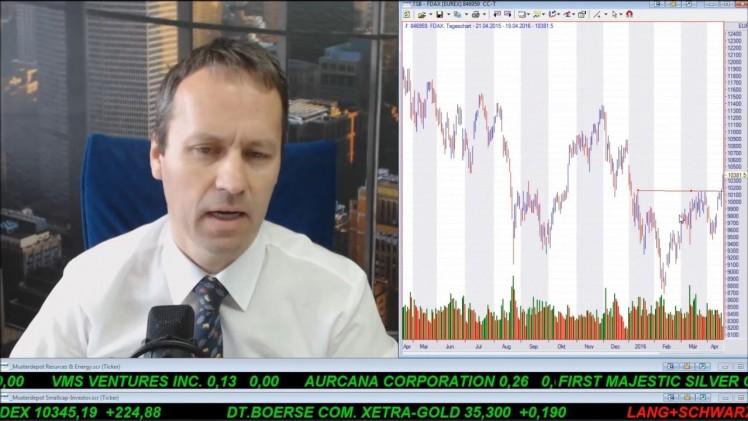 SmallCap-Investor Talk 547 über Sirona, DAX, Gold, Orvana, Öl usw.