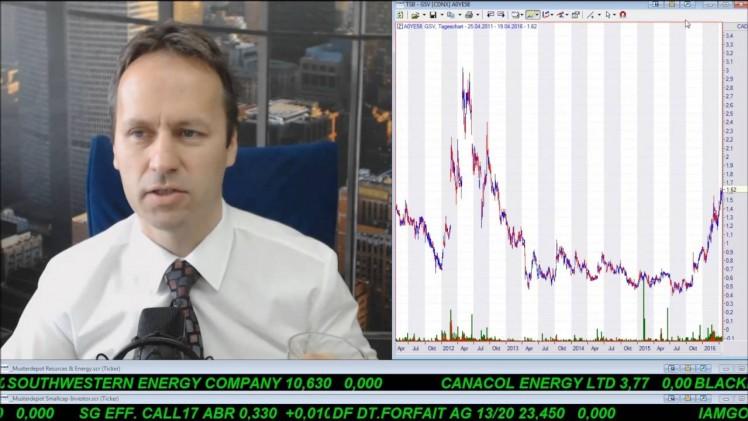 SmallCap-Investor Talk 548 über DAX, S&P500, Öl, Pacific Exp., Gold, TriMetals usw.