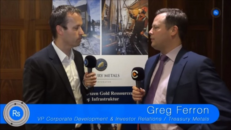 SmallCap-Investor Interview mit Greg Ferron von Treasury Metals (WKN A0Q8DW)