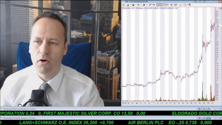 SmallCap-Investor Talk 552 über Gold, DAX, Goldcorp, Memorial Prod., Linn, Öl usw.
