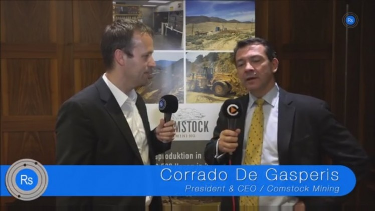 SmallCap-Investor Interview mit Corrado De Gasperis von Comstock Mining (WKN A0YG7J)