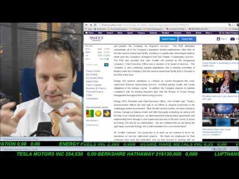 SmallCap-Investor Talk 543 – Energy XXI – Teil 2 – Chapter 11 ja aber gleichzeitig Restrukturierung