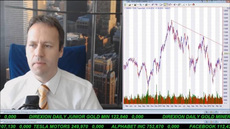 SmallCap-Investor Talk 549 über Gold, Silber, DAX, Öl und Canasil