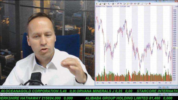 SmallCap-Investor Talk 585 über S&P 500 Ausbruch, Dow Jones, DAX, Gold, First Mining und Anleihen