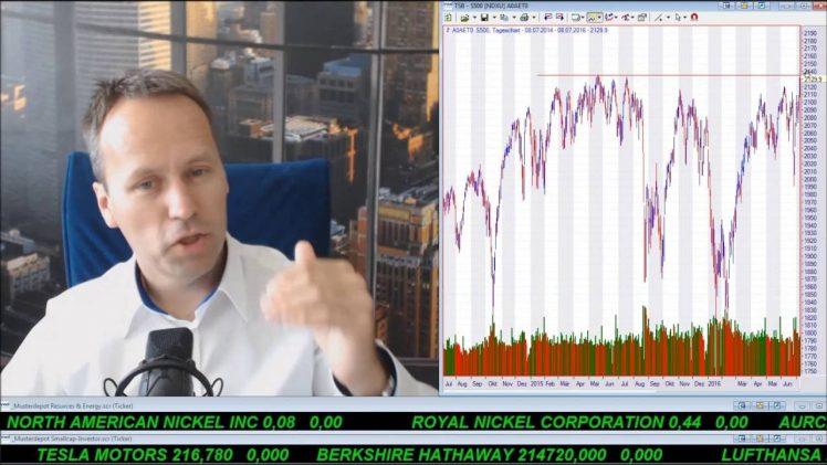 SmallCap-Investor Talk 591 über S&P 500, DAX, Gold, Silber und MoGo