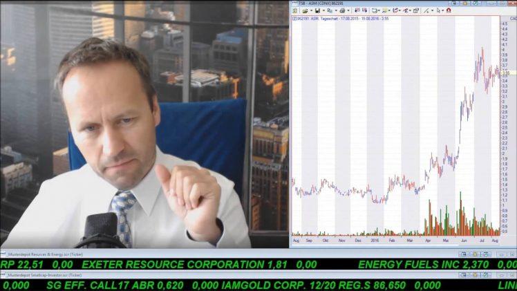 SmallCap-Investor Talk 593 über DAX, NASDAQ, Gold, Avino, Öl, Approach, Anleihen, Energy XXI usw.