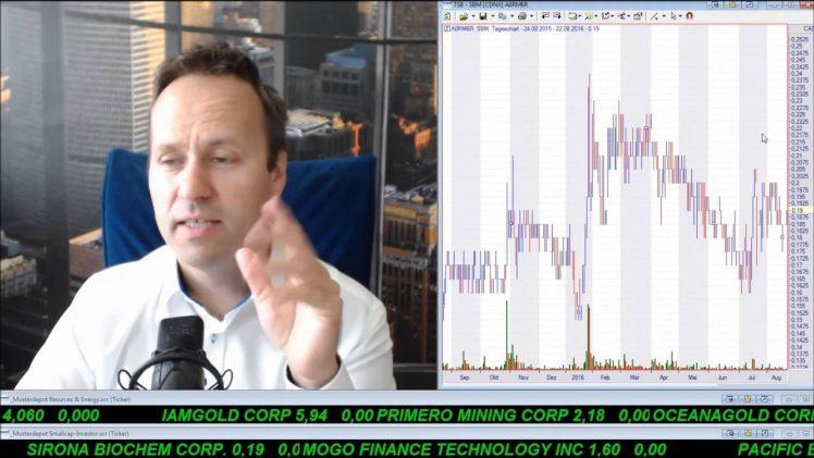 SmallCap-Investor Talk 596 über Gold, 3xETF, MigMe, MoGo, Sirona, Timmins, Alexandria, First Mining