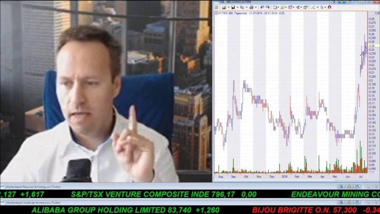 SmallCap-Investor Talk 588 über Türkei, DAX, Gold, Orvana, Blackbird Energy und Öl