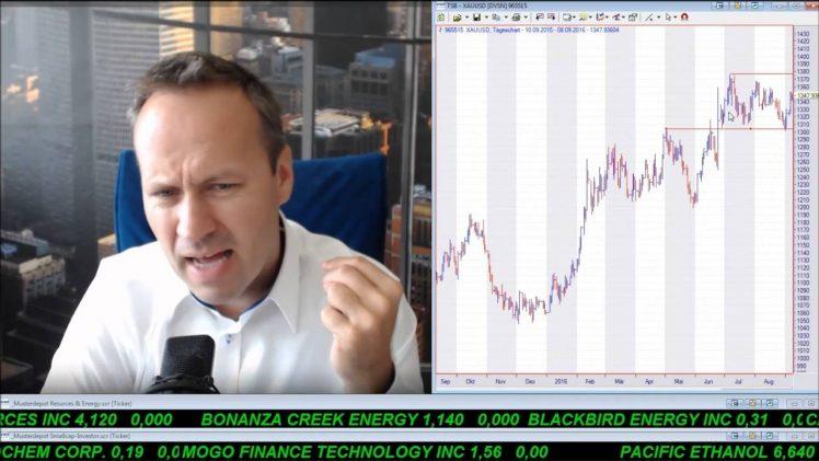 SmallCap-Investor Talk 600 über DAX, S&P, Gold, Goldaktien, Pasinex (IK), Golden Dawn, MigMe (IK)
