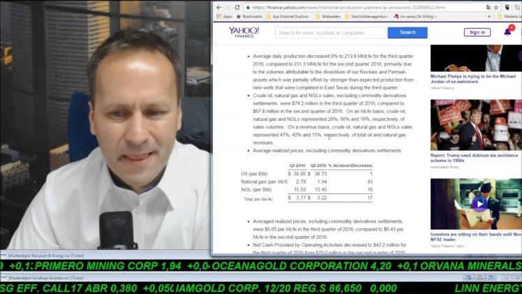 SmallCap-Investor Talk 620 über Gold, Memorial, Sirona usw.