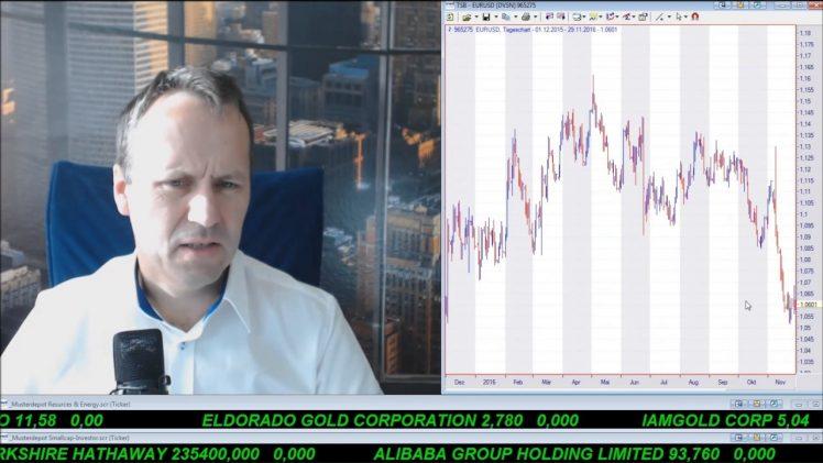 SmallCap-Investor Talk 628 über Ölpreis, Gold, US$, MoGo, Sirona, Yamana, Memorial, …