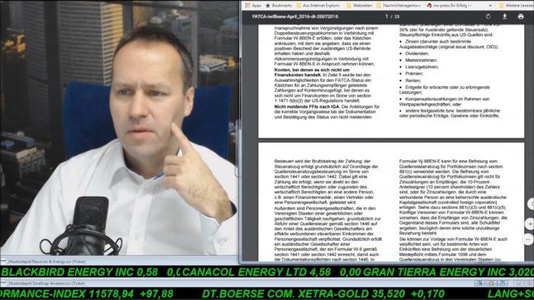 SmallCap-Investor Talk 642 über Gas, Linn-Anleihen, Gilead, Valent,…