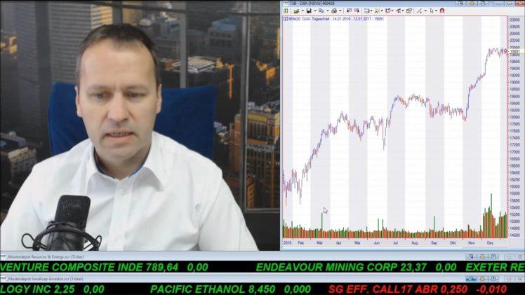SmallCap-Investor Talk 647 über Gold, Dow, Öl, Gas und Energy XXI