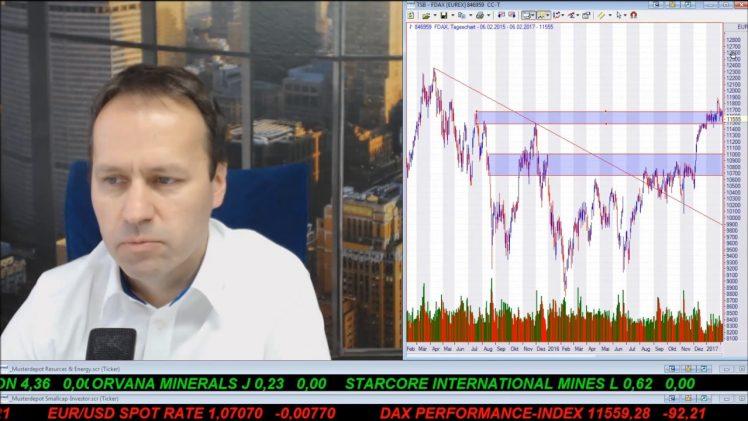 SmallCap-Investor Talk 649 über Gold, DAX, Öl, Sirona, Endeavour, UBM Dev., Infratil, Fortum,…
