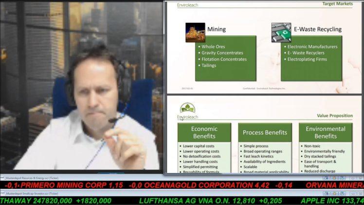 SmallCap-Investor Interview mit Duane Nelson von Enviroleach