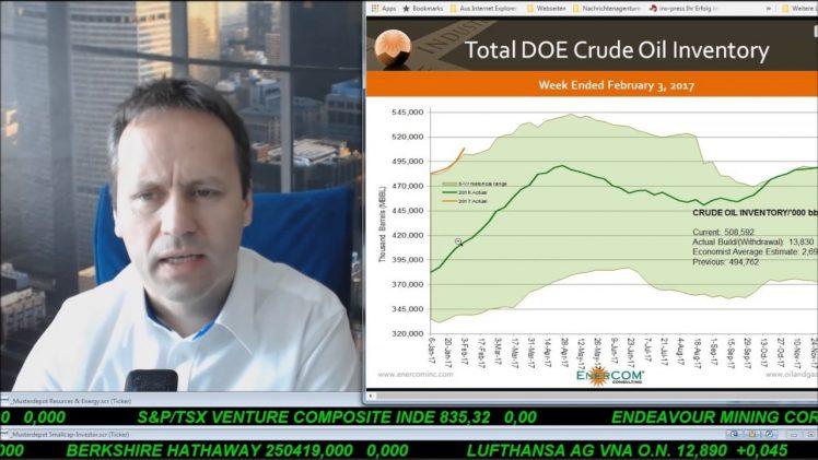 SmallCap-Investor Talk 650 über Gold, DAX, Öl, Gas, MoGo, IWS, EnWave, Approach, RNC, …