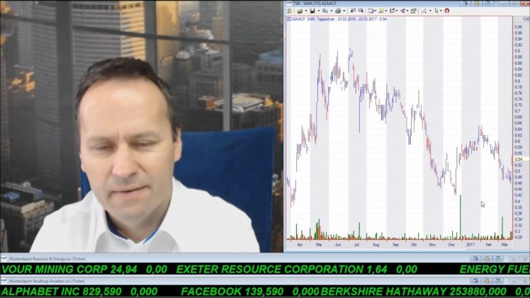 SmallCap-Investor Talk 657 über Gold, DAX, Starcore, Pengrowth, Legacy, Blackbird, BHP, Freeport,