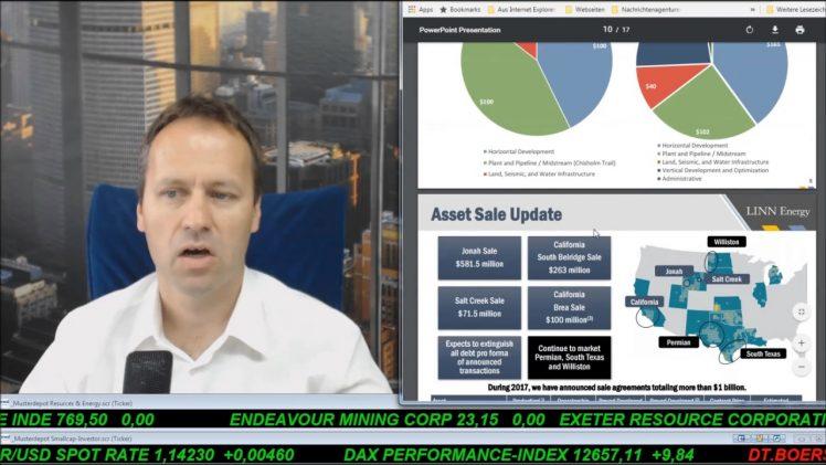 SmallCap-Investor Talk 685 über MoGo, Linn Energy, Amplify Energy, MigMe