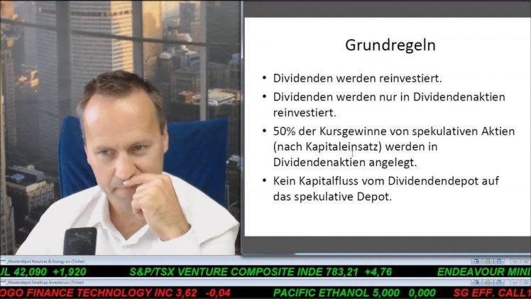 SmallCap-Investor Talk 698 über Gold, DAX und Dividendenstrategie