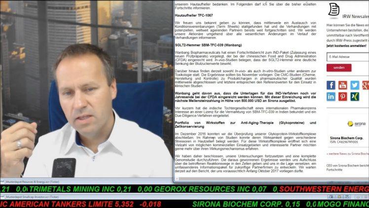 Smallcap-Investor Talk 705 über Gold, DAX, Öl, ProSieben, Sirona, MoGo und Blockchain, …