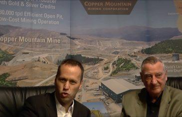 SmallCap-Investor Interview mit Jim O'Rourke, CEO von Copper Mountain Mining (WKN A0MWH1)
