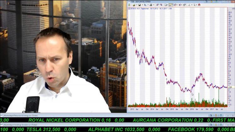 SmallCap-Investor Talk 721 über DAX, Gold, Öl, Energy XXI, Endeavour, Yamana, East Africa, GE, …