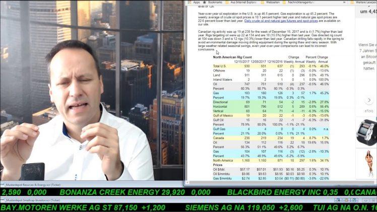 SmallCap-Investor Talk 731 über DAX, Fresenius, Marine Harvest, Öl, Breitburn, Gold, Eldorado