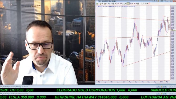 SmallCap-Investor Talk 751 über Gold, DAX, Öl und Linn