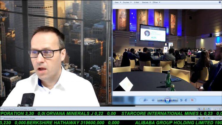SmallCap-Investor Talk 755 über PDAC, Crypto, Gold, DAX, Dow, Öl, Breitburn, Legacy, Approach