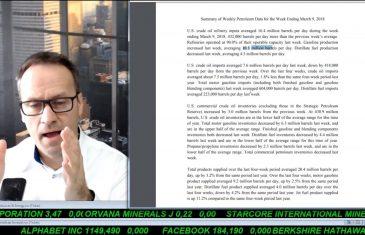 SmallCap-Investor Talk 757 über Gold, DAX, Dow und Öllagerbestände + wichtige Indikatoren