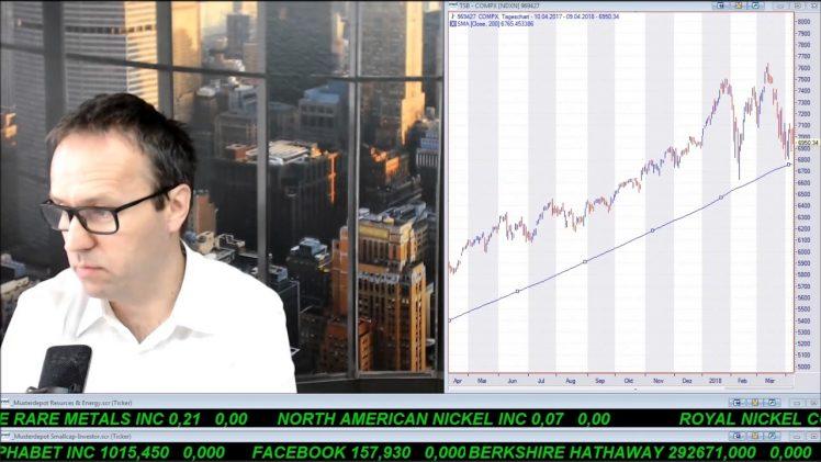 SmallCap-Investor Talk 764 über Dow, Nasdaq, DAX, Gold, EAM, EnWave, Gatekeeper, Dividendenstocks