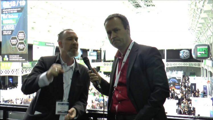SmallCap-Investor Interview mit Michael Adams, Stock-Telegraph auf der Blockchain Expo