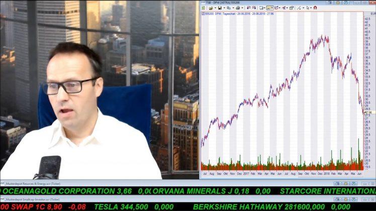 SmallCap-Investor Talk 789 über Dow, GE, Dt. Post, Öl-Preis und Cannabis