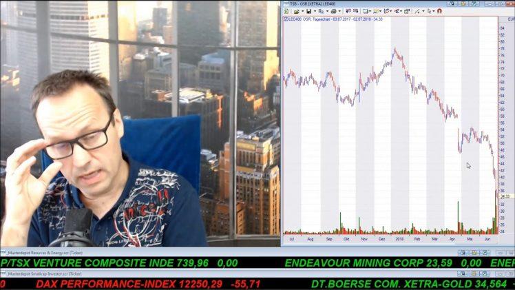 SmallCap-Investor Talk 790 über Gold, DAX, Dow, Cannabiswerte, Turnaroundwerte, Osram, …