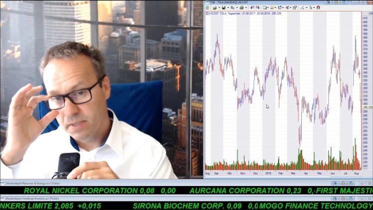 SmallCap-Investor Talk 805 über Gold, US$, Türk. Lira, Tesla, Endeavour Mining, Hudbay, …