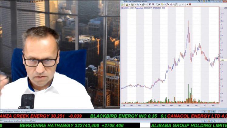 SmallCap-Investor Talk 808 über Gold, Silber, Öl, Energy XXI, K92, Energy Fuels, Legacy, Blackbird