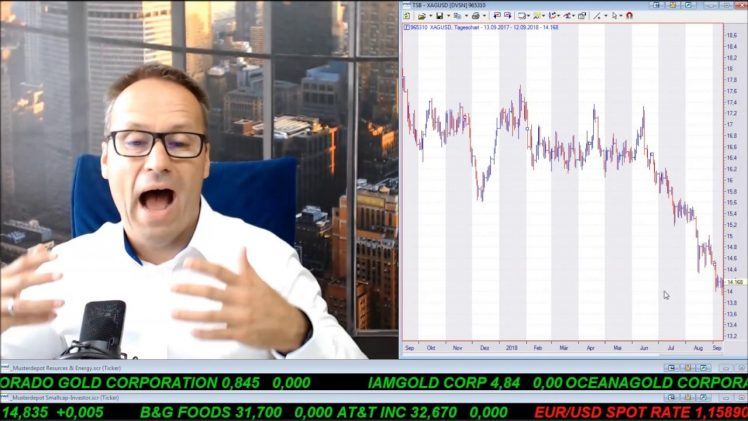 SmallCap-Investor Talk 811 über Gold, Silber, DAX, Royal Nickel, Energy XXI, Pasinex, Vectron, …