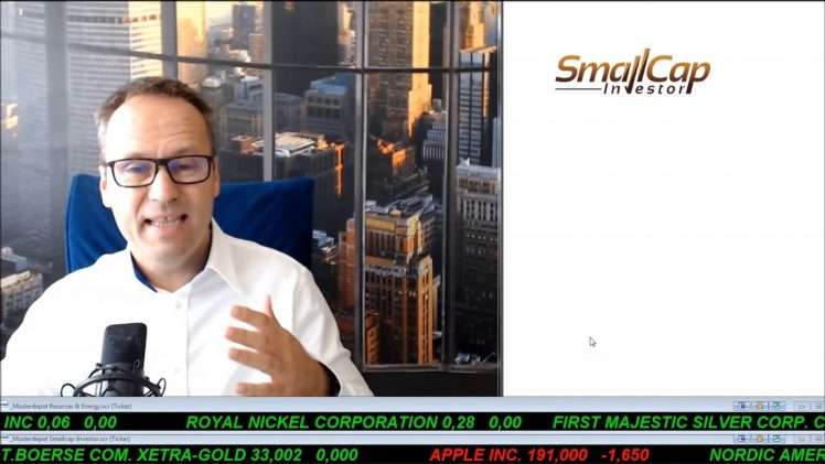 SmallCap-Investor Talk 812 – Update zu Royal Nickel