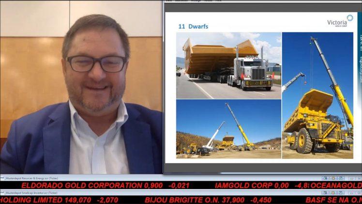 SmallCap-Investor Interview mit John McConnell, CEO & President von Victoria Gold Corp. (WKN A0Q7FX)