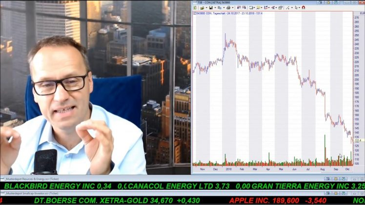 SmallCap-Investor Talk 826 über DAX, Dow, Gold, Conti, Schaeffler, voestalpine, L Brands, Newell