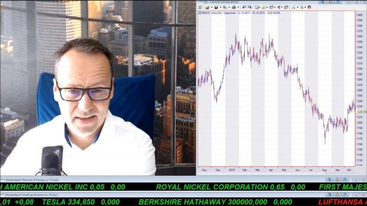 SmallCap-Investor Talk 831 über DAX, Dow, Amazon, Facebook, Fresenius, Eldorado Gold, Newell, …
