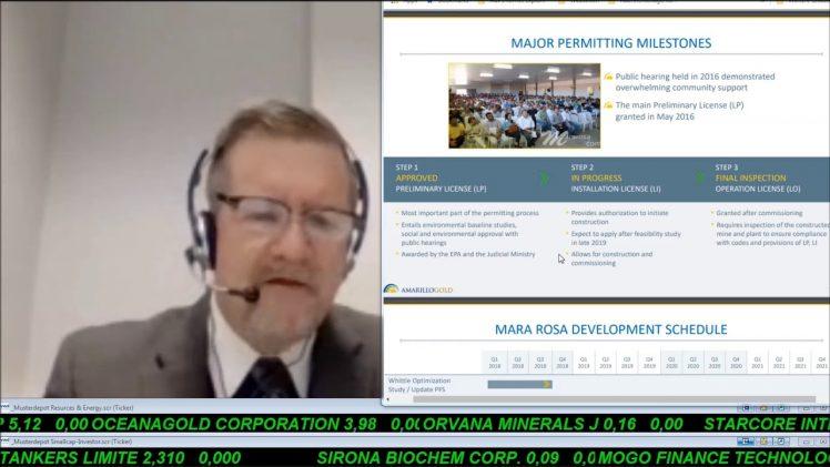 SmallCap-Investor Interview mit Mike Mutchler, President & CEO von Amarillo Gold (WKN A0HGAU)