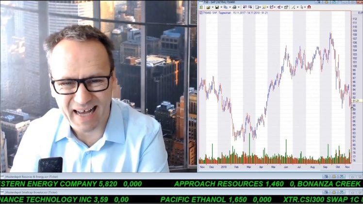 SmallCap-Investor Talk 837 über DAX, Dow, Gold, US$, Royal Nickel, GE, Newell, L Brands, JD.com, …