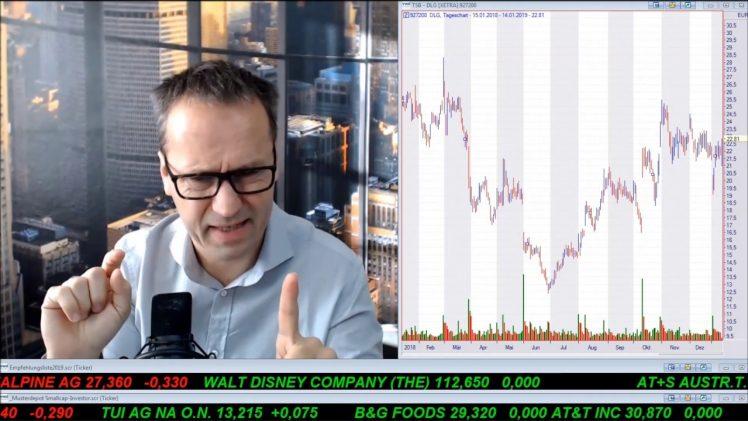 SmallCap-Investor Talk 861 über Dow, DAX, Gold, Öl, Conti, Dialog, Semperit, Trevali
