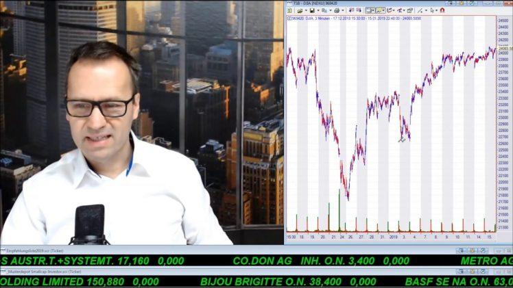 SmallCap-Investor Talk 862 über Pfund, DAX, Dow, Gold, Netflix, PG&E, …