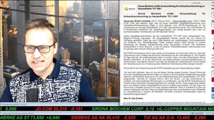 SmallCap-Investor Talk 867 über Sirona