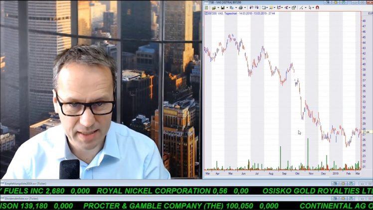 SmallCap-Investor Talk 877 über DAX, Gold, Paragon, Co.DON, Voestalpine, EnWave, JD.com, MoGo