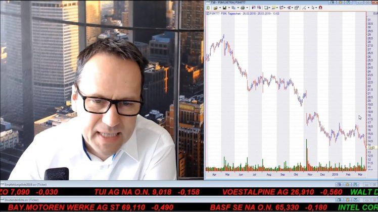 SmallCap-Investor Talk 881 über DAX, Dow, ProSieben und SIXT Leasing